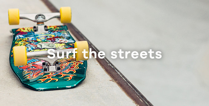 Surf the streets