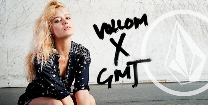 Volcom x Georgia May Jagger Collab