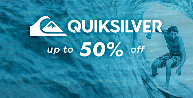 Quiksilver - Up to 50% Off