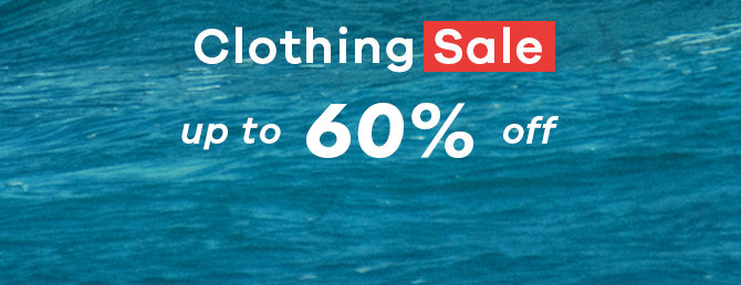 Clothing Sale - Up to 60% Off