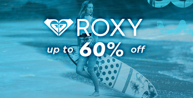 Roxy - Up to 60% Off