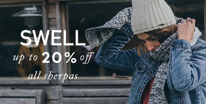 SWELL - 20% off Sherpa